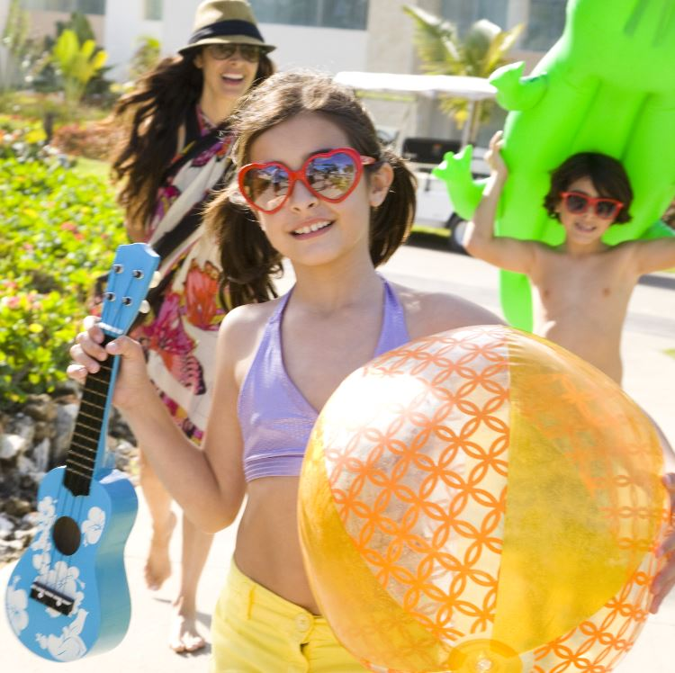 Hard Rock Hotels & Resorts are kid-friendly with unique music-centric activities