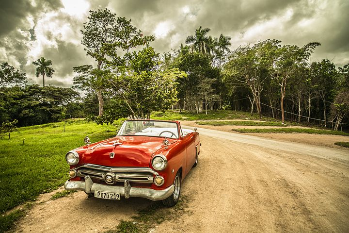 vintage Cuban Chevy