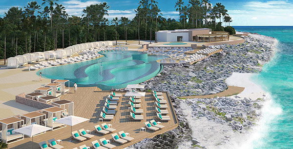 Kicking off this summer, Grand Palladium Riviera Resort & Spa will be incorporated into TRS Yucatán Hotel—formerly known as The Royal Suites Yucatán—with some show stopping renovations.
