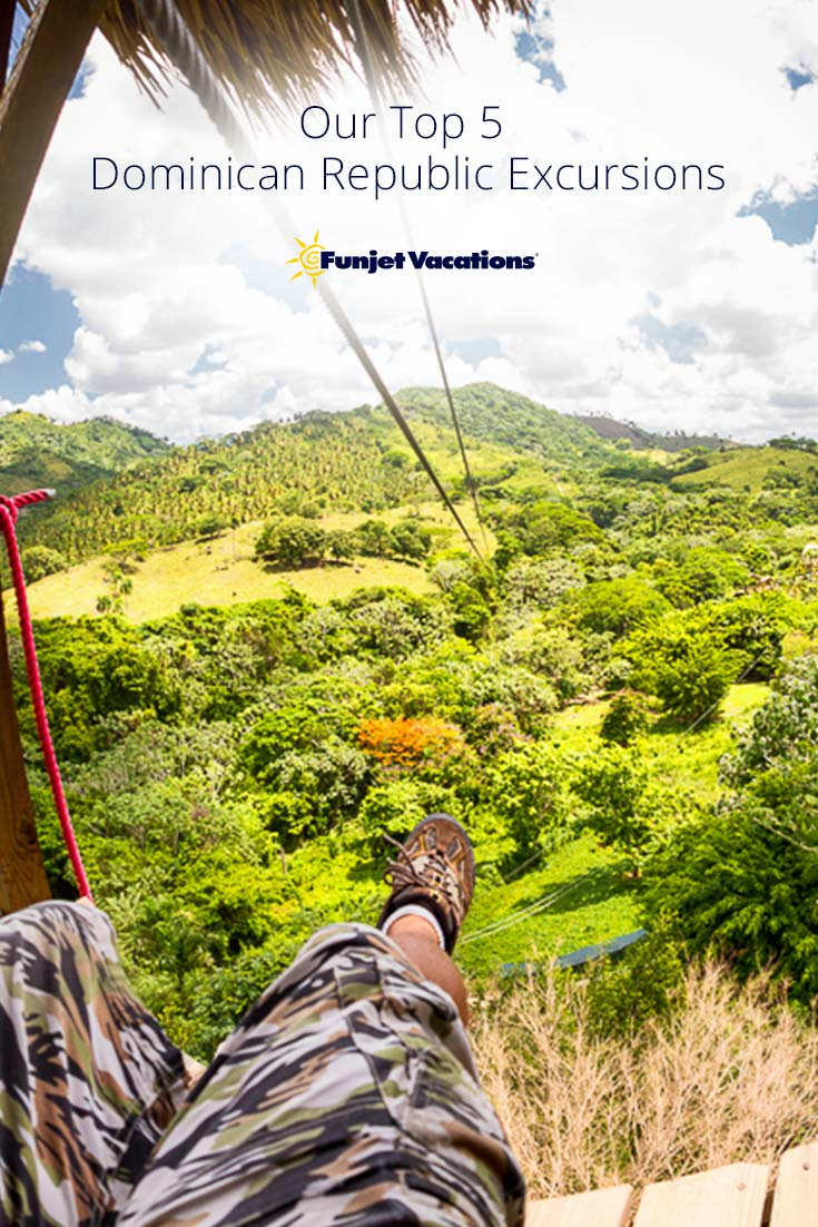 Discover our top 5 excursions in the Dominican Republic through IslandSun Experience. Whether it's by land or sea, there's an excursion for you.