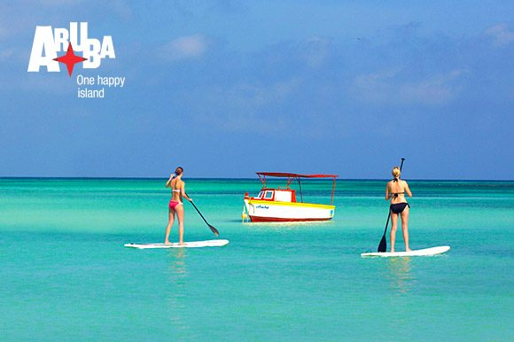 Aruba-paddle-boarding-water-sports