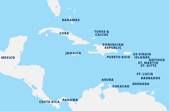 Caribbean-islands-geography
