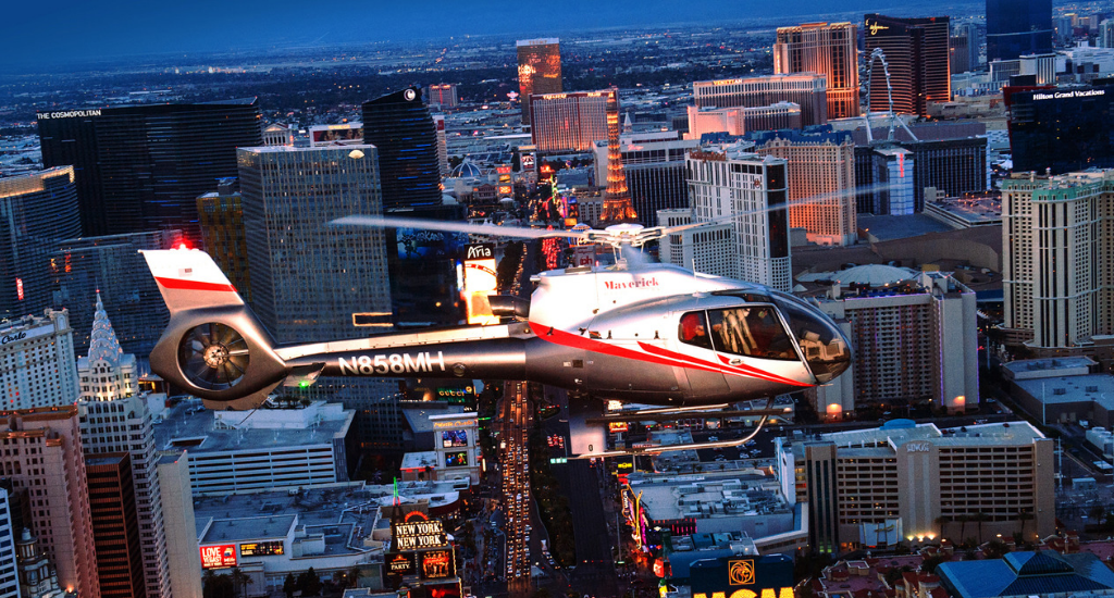 Vegas Nights Helicopter Tour Maverick